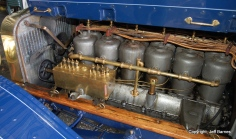 The six-cylinder, 405-ci engine was the least expensive six-cylinder of its day but still set a world endurance record in 1907.