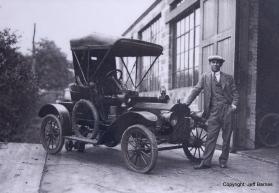 Heyen's very own 1906 N, as seen in 1925.
