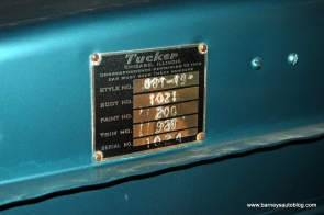 S/N 1024 Car: No. 24 Body: No. 1021 Key: No. TC-562 Color: No. 200 (Waltz Blue) Trim: No. 920 Engine: Franklin Aero Trans: SN: Y1 109 AS #24 of 51. Fully restored.