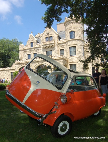 At the Joslyn Castle Car Classic, July 2015
