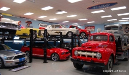 Half of the Murray Collection… At 20 Fords, the collector expects that he's done collecting and is now enjoying.