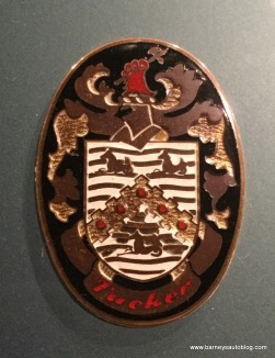 Tucker family crest, used as emblem for the car.